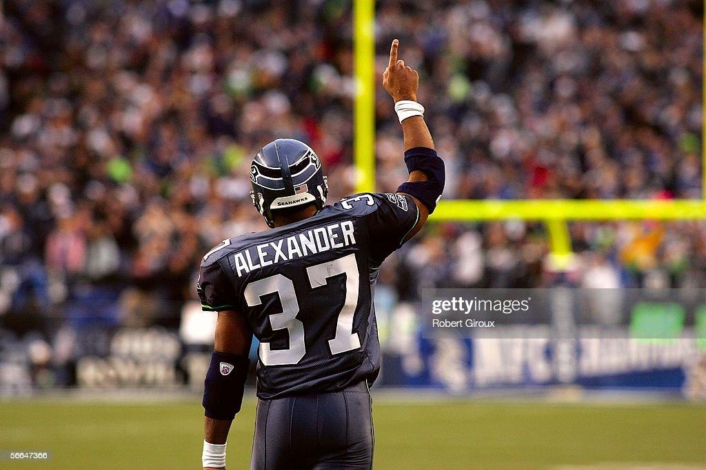 NFC Championship Game: Carolina Panthers v Seattle Seahawks : News Photo