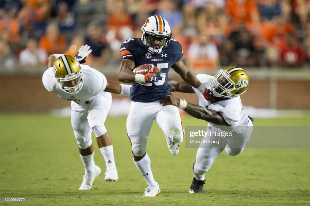 Alabama State v Auburn : News Photo