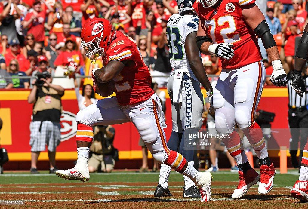 Seattle Seahawks v Kansas City Chiefs : News Photo