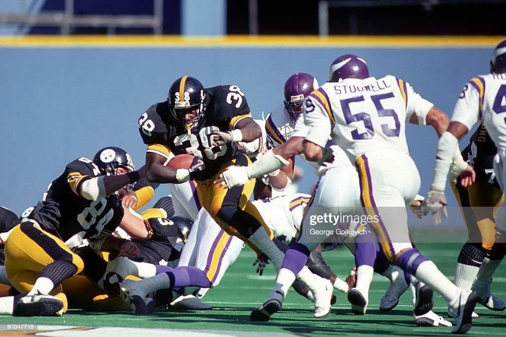 Steelers Tim Worley : News Photo