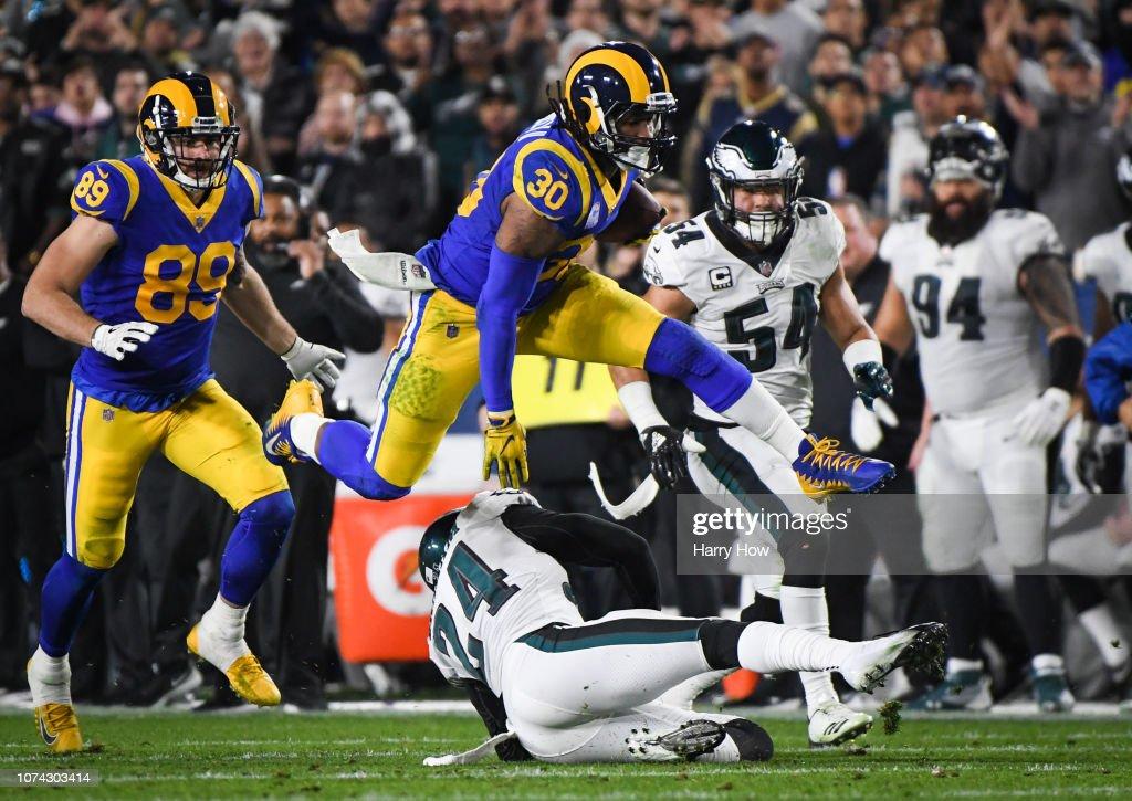 Philadelphia Eagles v Los Angeles Rams : ニュース写真