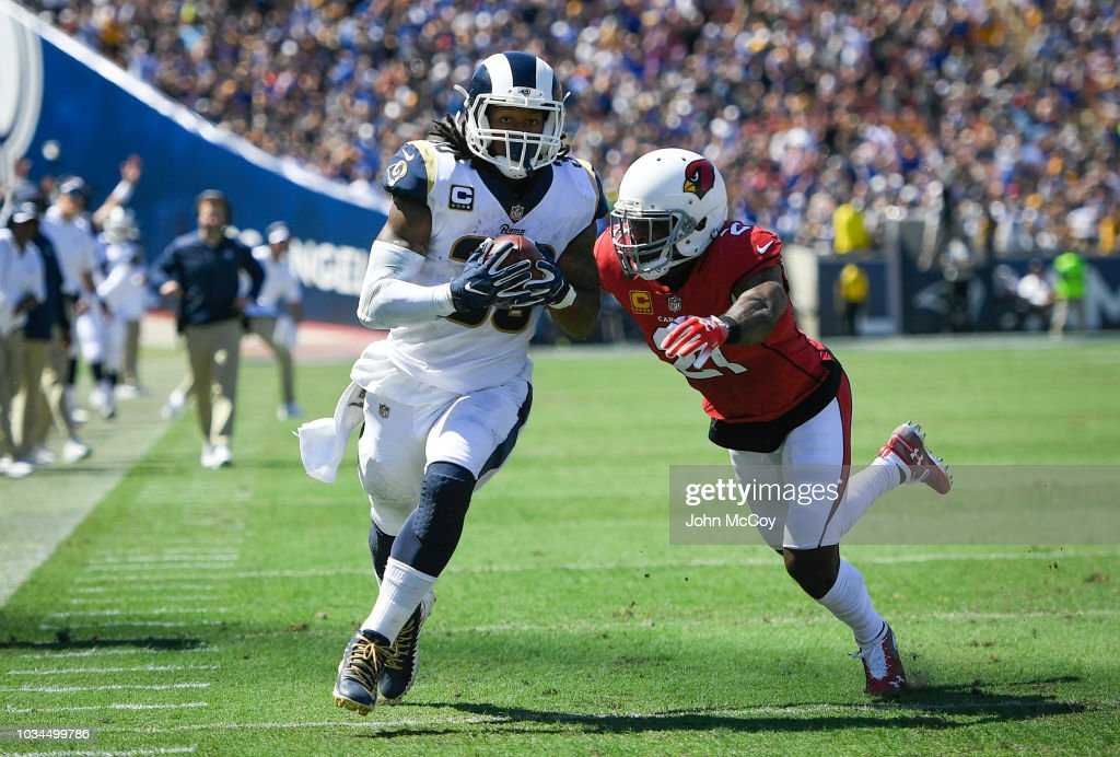 Arizona Cardinals v Los Angeles Rams : Nachrichtenfoto