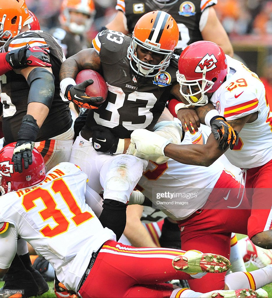 Cleveland Browns v Kansas City Chiefs 12-9-2012