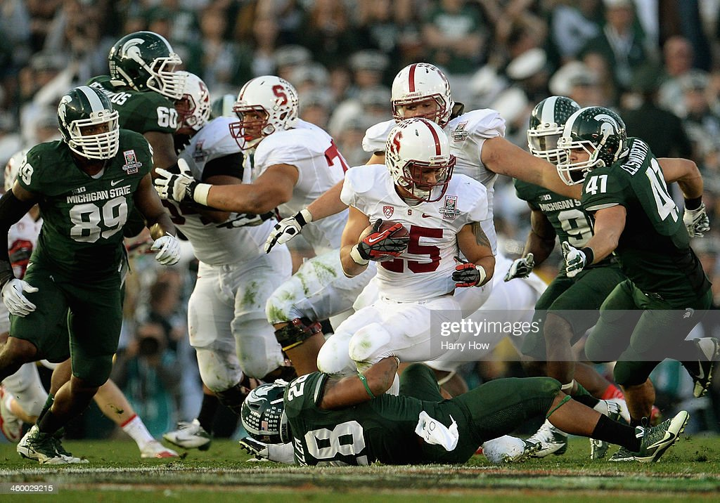 The 100th Rose Bowl Game - Stanford v Michigan State : News Photo