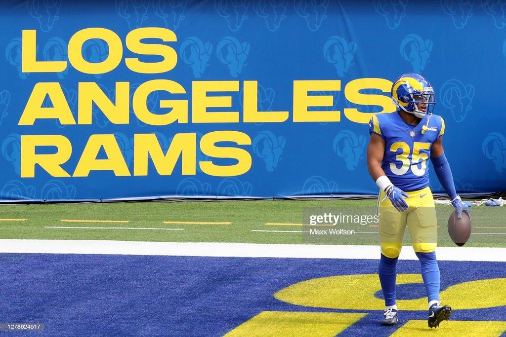 New York Giants v Los Angeles Rams : News Photo