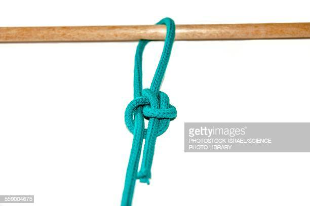 running bowline knot - photostock stock pictures, royalty-free photos & images