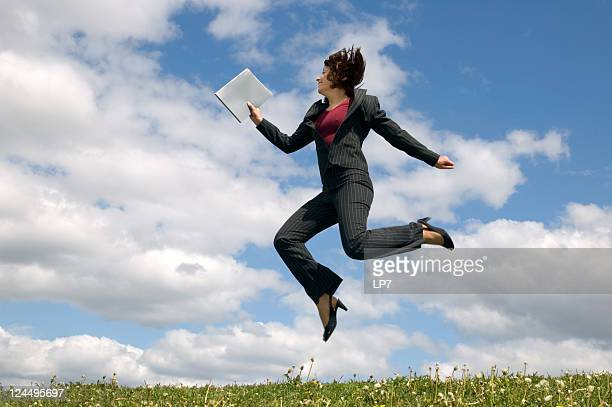 running business woman - pant suit stock pictures, royalty-free photos & images