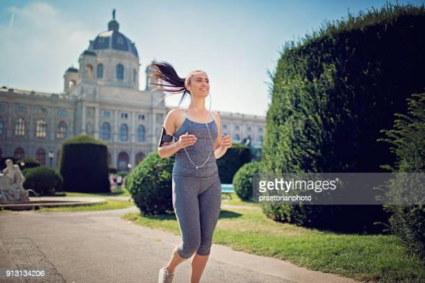 Running Mädchen