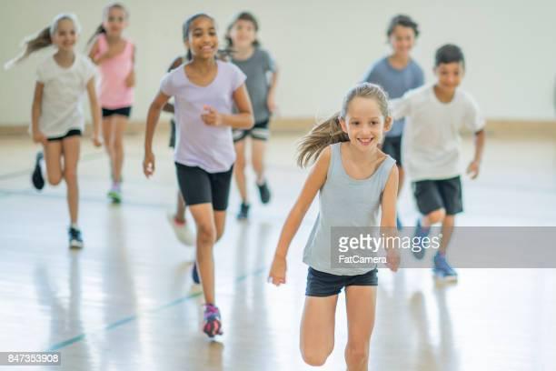 Laufen In Turnhalle
