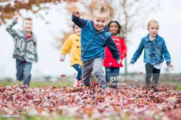 Running In Leaves
