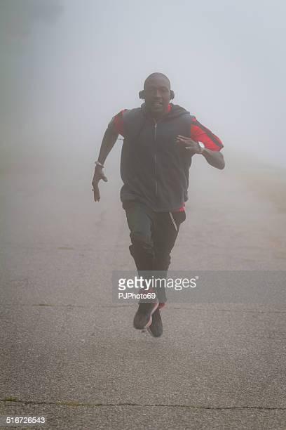 Laufen im Nebel