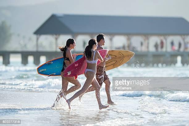 Course sur le Surf