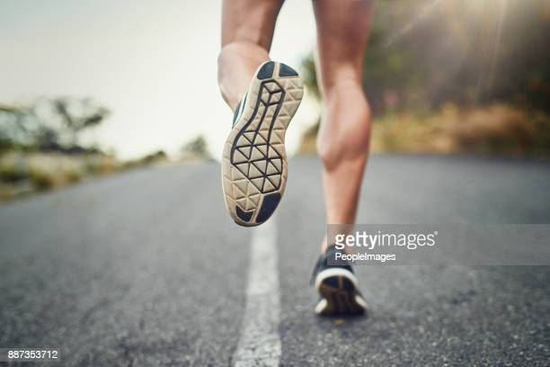 running is a good way to begin fitness - marathon stock pictures, royalty-free photos & images