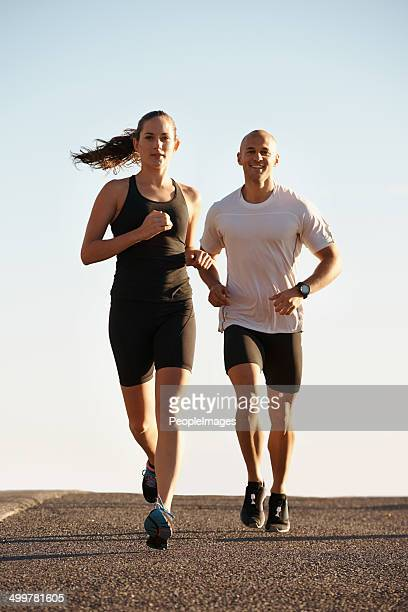 Laufen ist die Belohnung