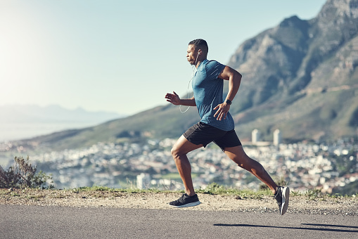 Running is one of the best ways to stay fit 1036780592