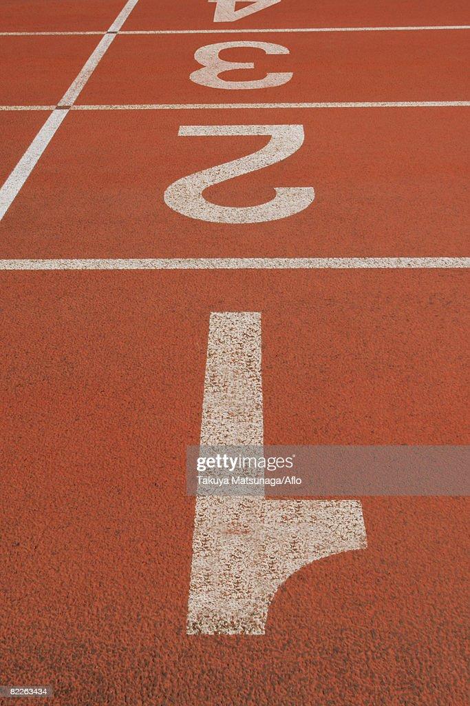 Running Lane : Stock Photo