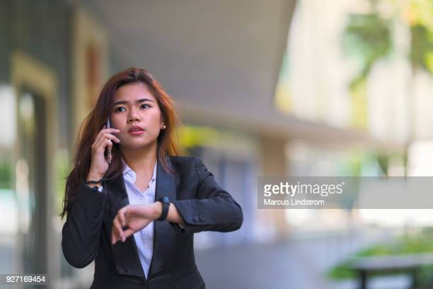 running late - metro manila stock photos and pictures