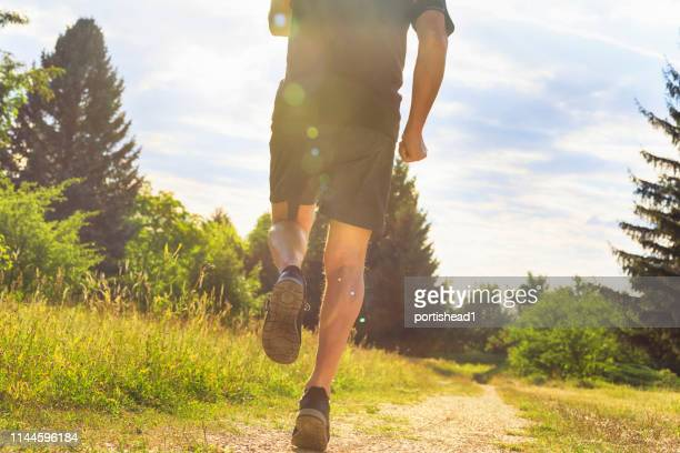 running man - sportsperson stock pictures, royalty-free photos & images