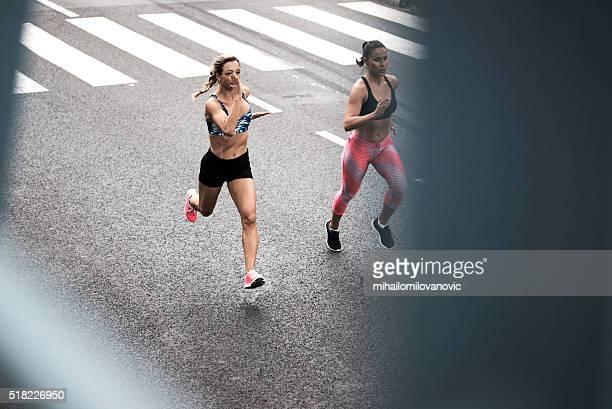 Laufen auf der Straße