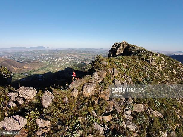 ランニングトップの山