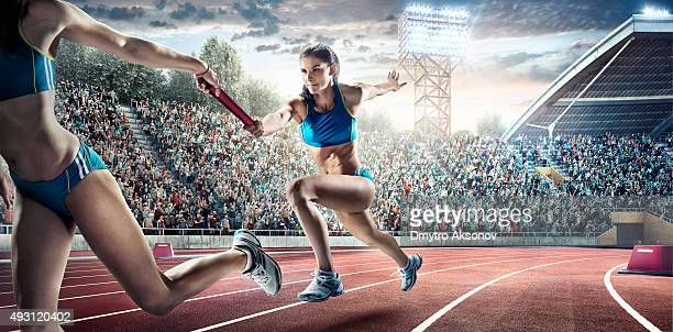 Running Pass on Olympic Stadium