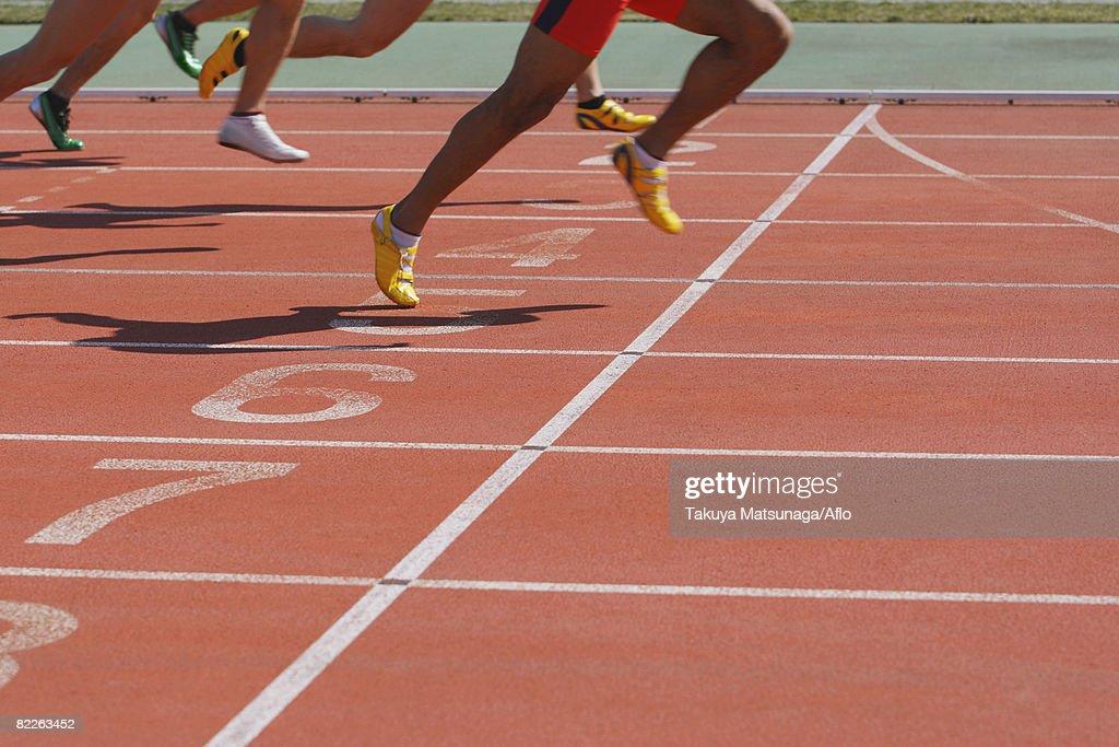 Running Race : Stock Photo
