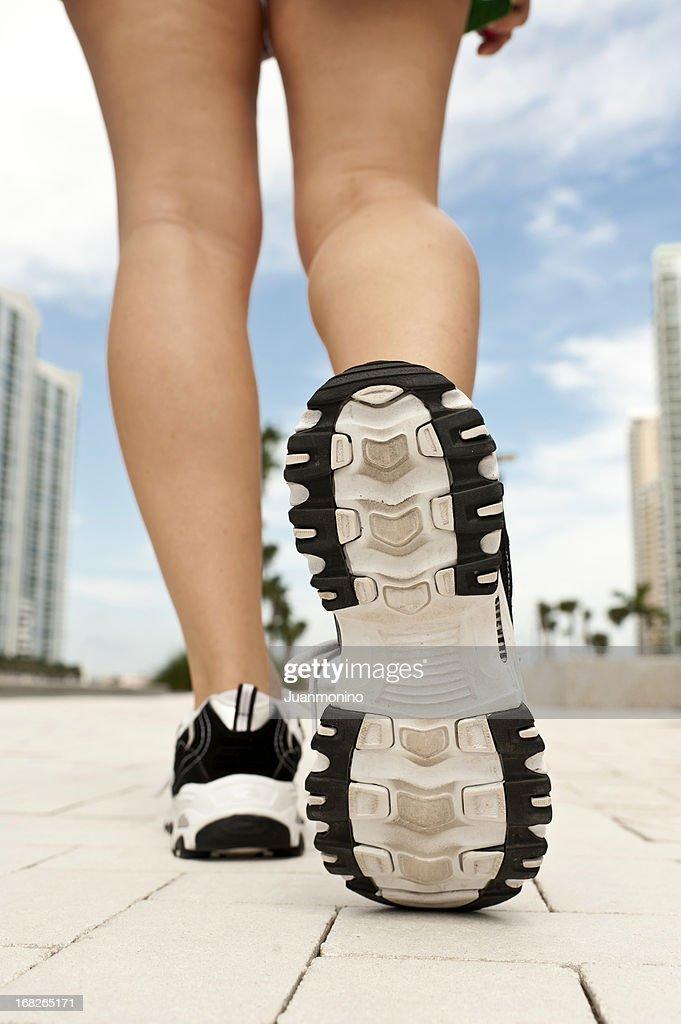 Running shoe : Stock Photo