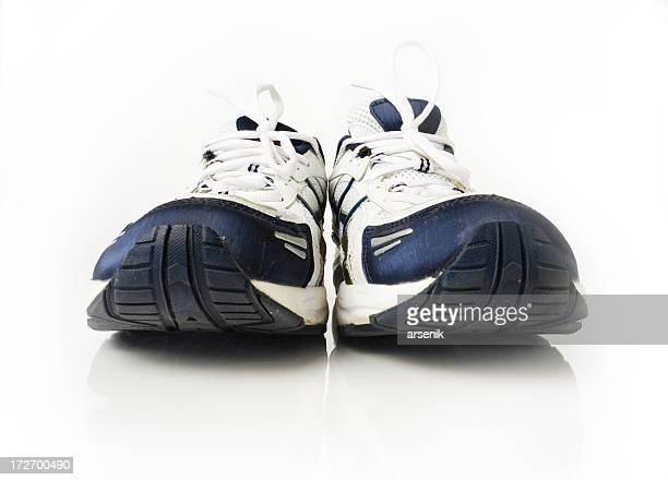running shoes - sports footwear stock pictures, royalty-free photos & images