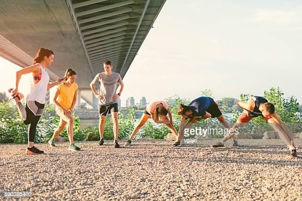 Running Team.