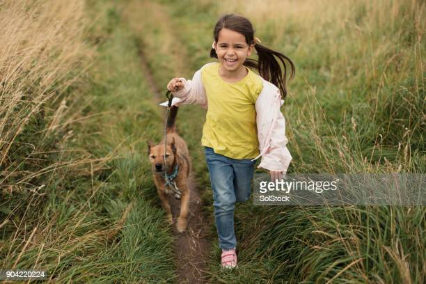 Running Through a Field of Grass