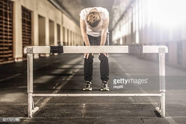 Running through the barrier