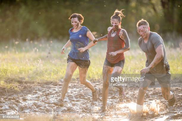 Running Through The Mud