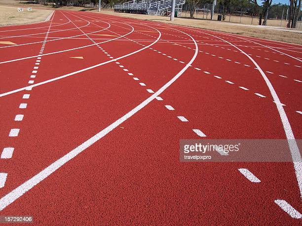 Running Track and Lanes