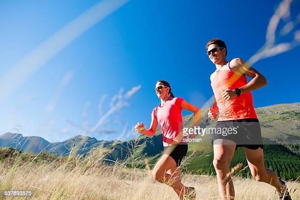 Courir avec mon partenaire est Fun