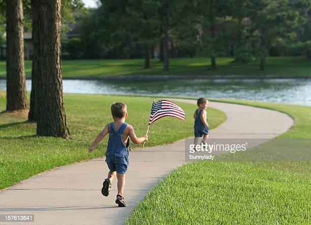 Running with the flag, again