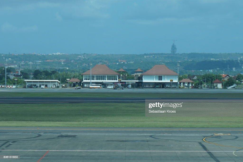 Runway And Small Terminal At Ngurah Rai International Airport Bali Indonesia High Res Stock Photo Getty Images