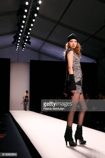 Runway at the NICOLE MILLER Fall 2010 Collection at Bryant Park Tents on February 12 2010 in New York City