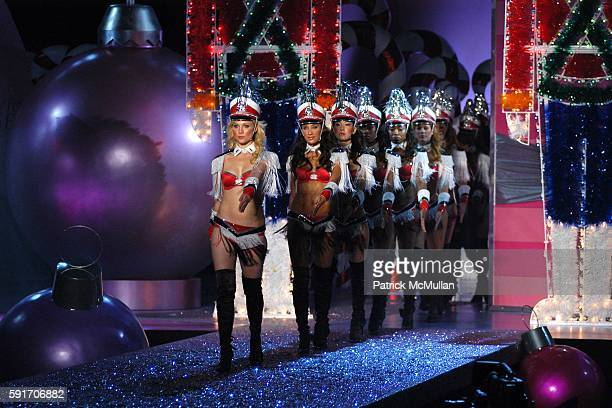 Runway Atmosphere attends 10th VICTORIA'S SECRET FASHION SHOW Runway at Lexington Avenue Armory on November 9 2005 in New York City