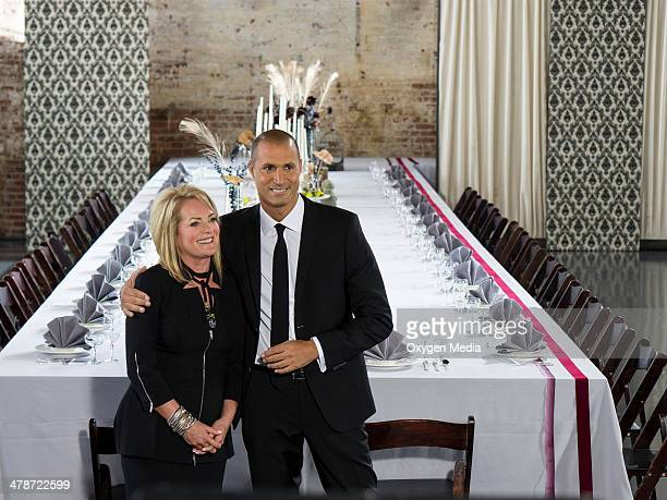 THE FACE Runway Dinner Party Episode 203 Pictured Guest Pamela Rolland and Host Nigel Barker