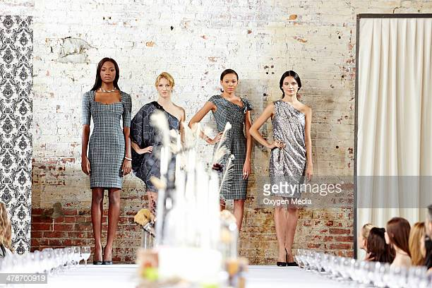THE FACE Runway Dinner Party Episode 203 Pictured Team Naomi Afiya Bennett Alana Duval Felisa Wiley Kira Dikhtar