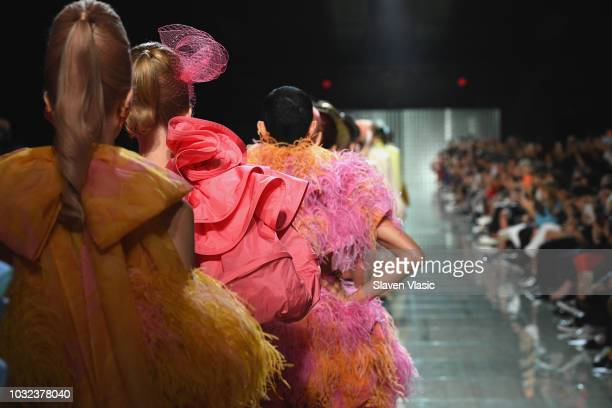 Runway finale at the Marc Jacobs Spring 2019 Runway during New York Fashion Week The Shows at Park Avenue Armory on September 12 2018 in New York City