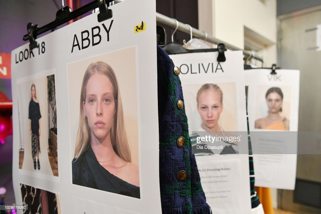Monse - Backstage - September 2018 - New York Fashion Week: The Shows : ニュース写真
