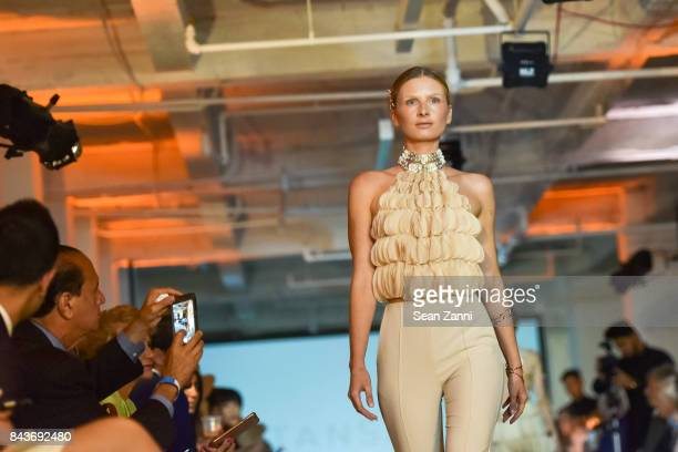 Runway Presentation at OR Movement Tahor Group Present NYFW Desert Flower by Matan Shaked Keren Wolf and Aviad Arik Herman at 666 Fifth Avenue on...