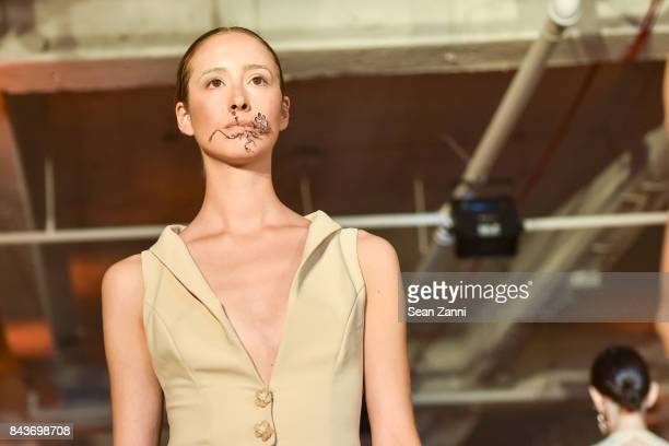 Runway Presentation with jewelry by Keren Wolf at OR Movement Tahor Group Present NYFW Desert Flower by Matan Shaked Keren Wolf and Aviad Arik Herman...