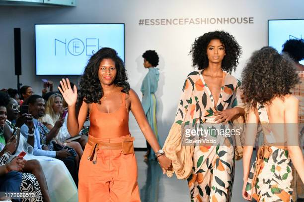 Runway show by Fe Noel at ESSENCE Fashion House for New York Fashion Week at Affirmation Arts on September 05 2019 in New York City