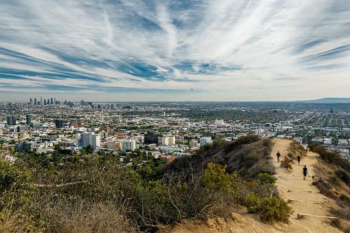 Runyon Canyon Park, Los Angeles, California 1074051388