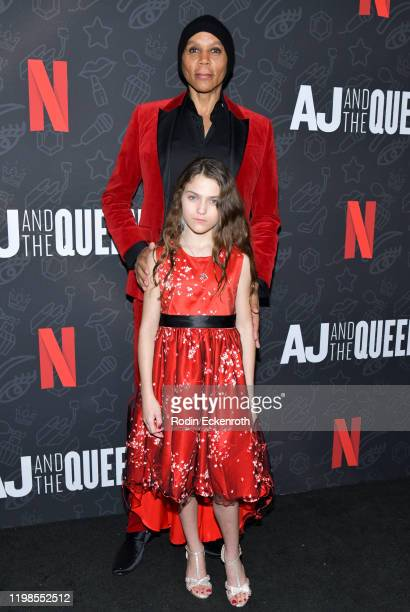 RuPaul and Izzy G attend Premiere of Netflix's AJ and the Queen Season 1 at the Egyptian Theatre on January 09 2020 in Hollywood California