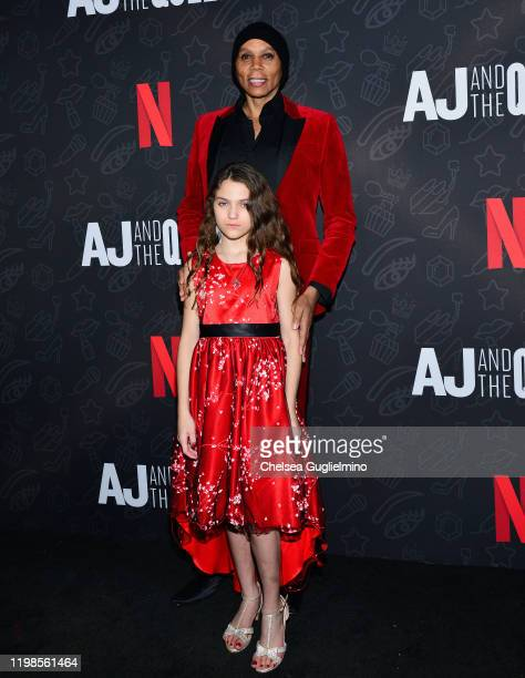 RuPaul and Izzy G attend the premiere of Netflix's AJ and the Queen Season 1 at the Egyptian Theatre on January 09 2020 in Hollywood California