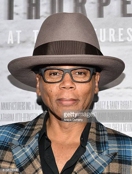 RuPaul Andre Charles attends the premiere of HBO Documentary Films' 'Mapplethorpe Look At The Pictures' on March 15 2016 in Los Angeles California