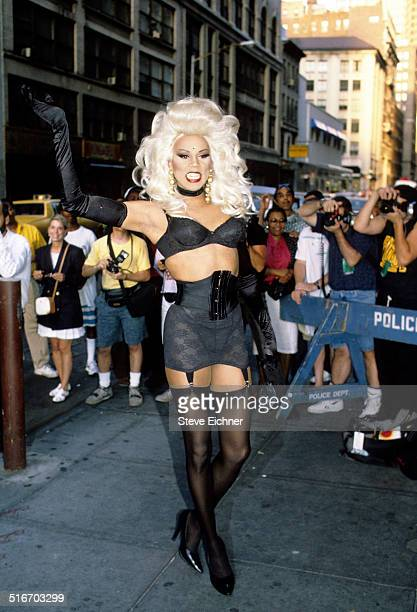 RuPaul at Studio 54 New York July 9 1992
